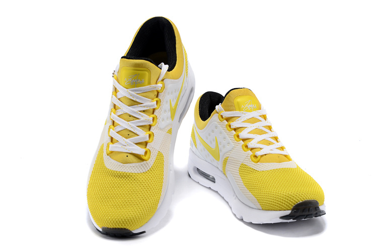 air max homme jaune