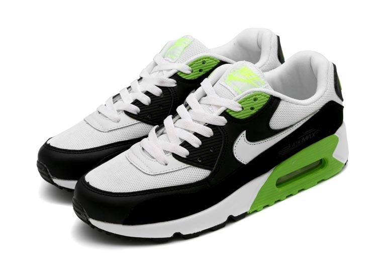 air max 90 verte et blanche