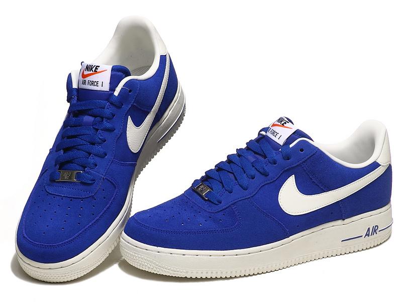 nike air force 1 low bleu marine