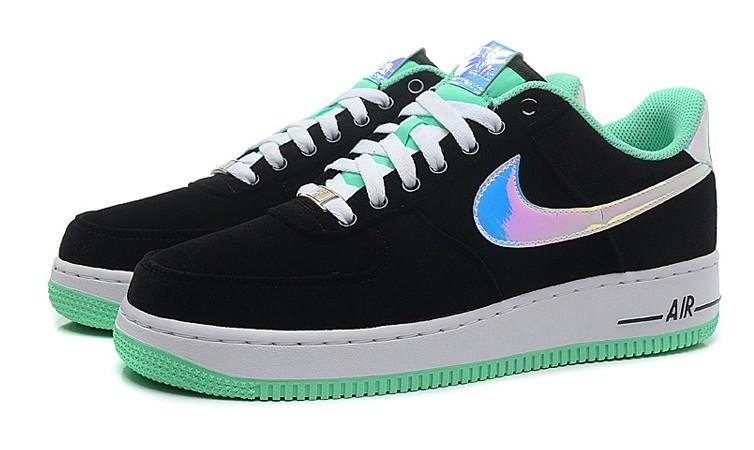 chaussures de sport ab8f9 b65fb air force daim,homme air force 1 low noir et verte