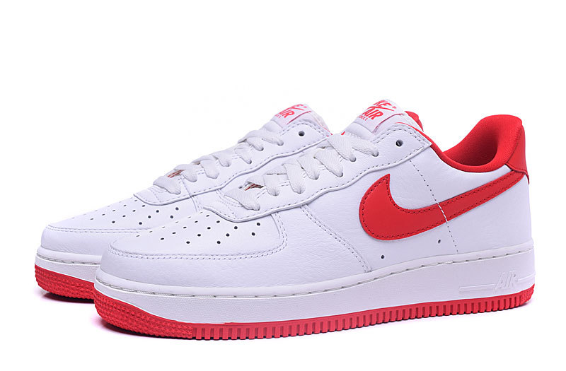 air force one blanche rouge 8527fc
