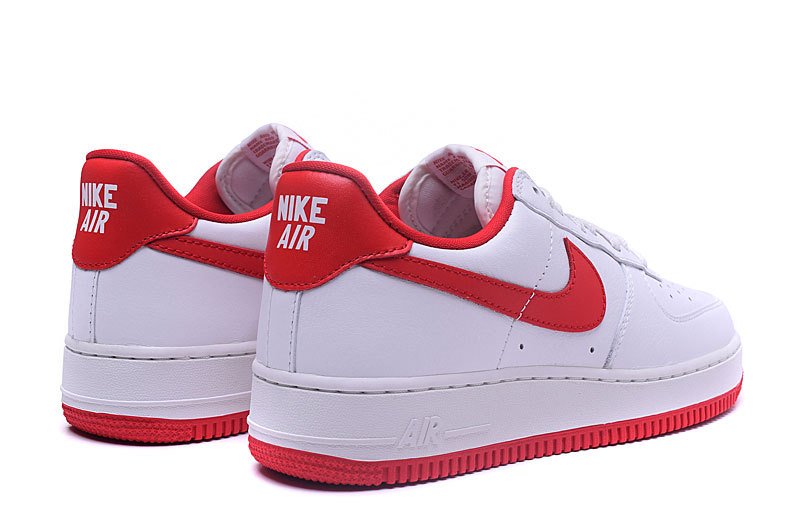 nike air force 1 low blanc rouge