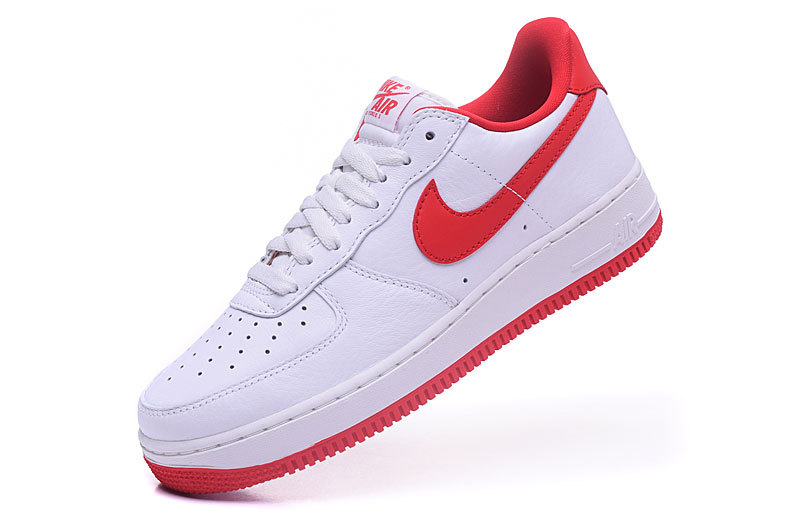 air force one basse,nike air force 1 low blanche et rouge