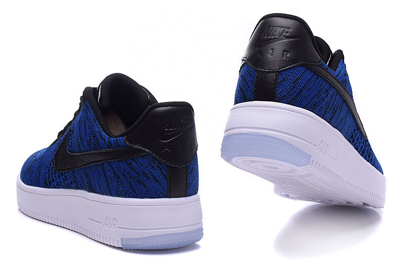 Air Force One Nike Air Force 1 Flyknit Noir Et Rouge Nike