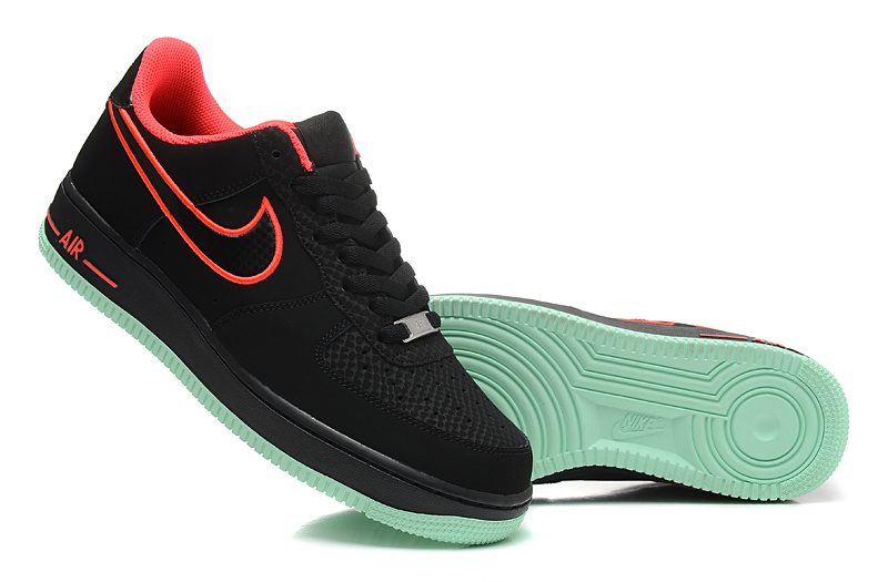 1 Force Rouge homme Low Et Air One Low Noir tsQrhdC