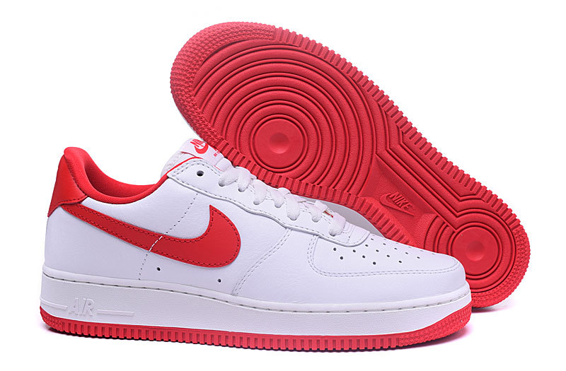 Nike Femme Blanche Et nike Force Rouge One 1 Low Air PkZlwiuTOX