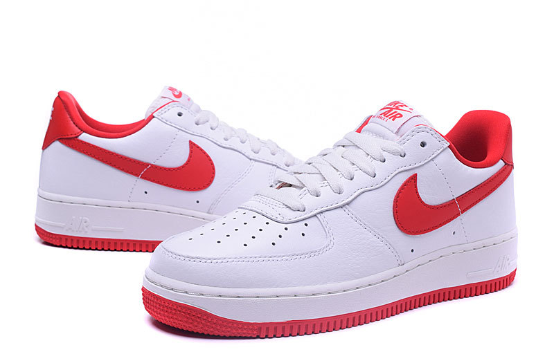 air force one nike femme,nike air force 1 low blanche et rouge