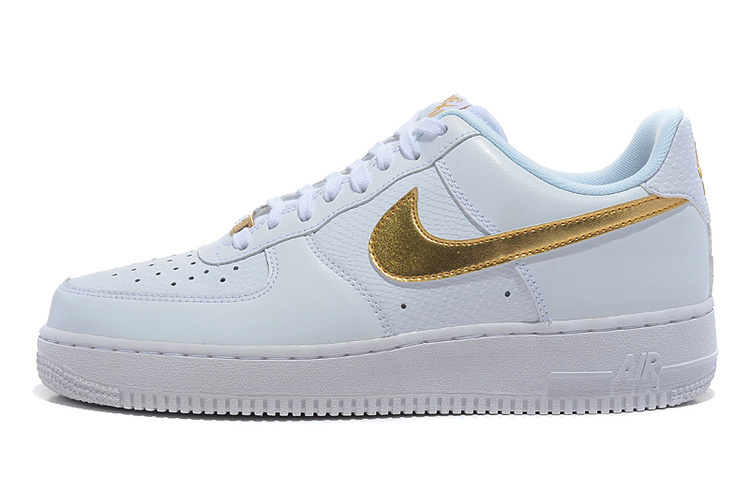 air force one femme blanc et or