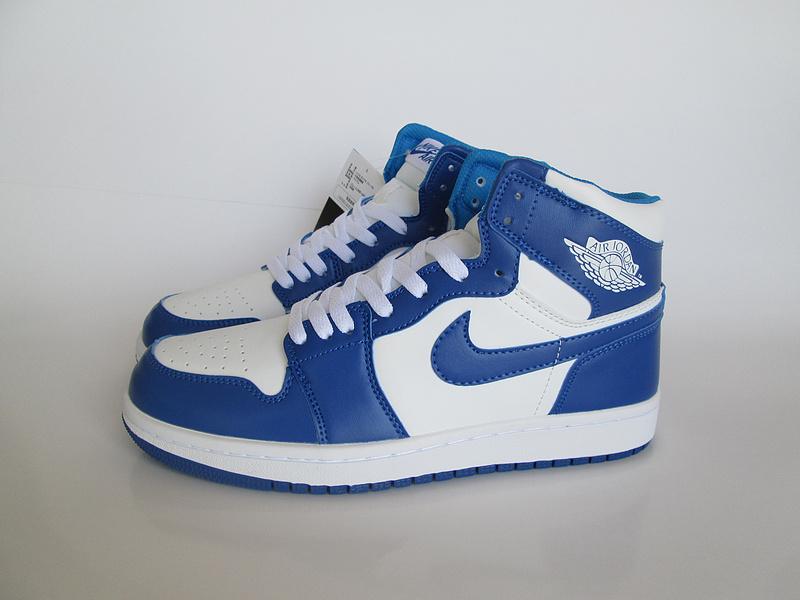 air jordan bleu et blanche