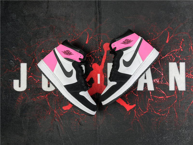 air jordan 1 rose fluo