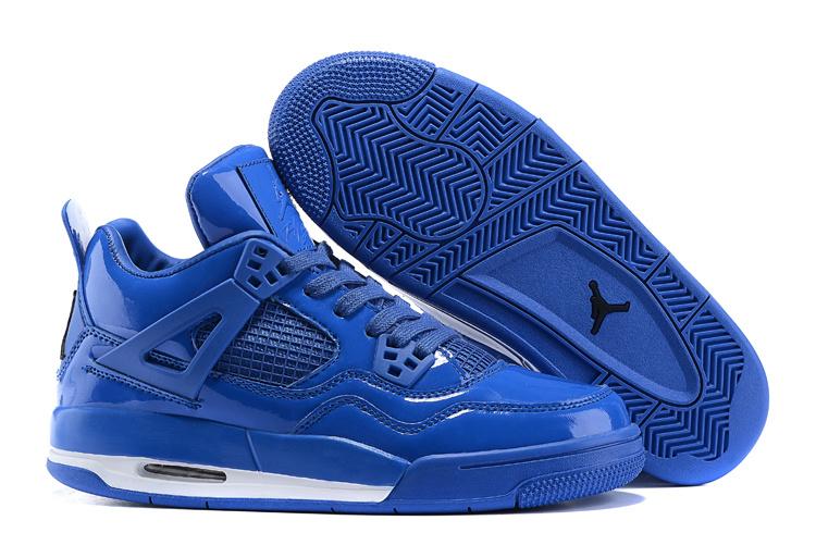 nike air jordan 4 retro bleu