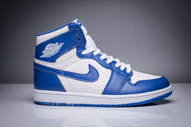 air jordan 1 blanche et bleu