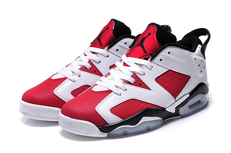 air jordan retro 6 blanc rouge noir