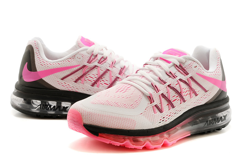 popular brand sale online unique design air max 2015 sneakers,nike air max blanche et noir et rose femme