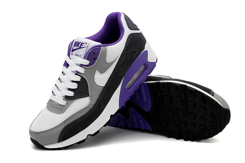 air max 90 femme violet noir