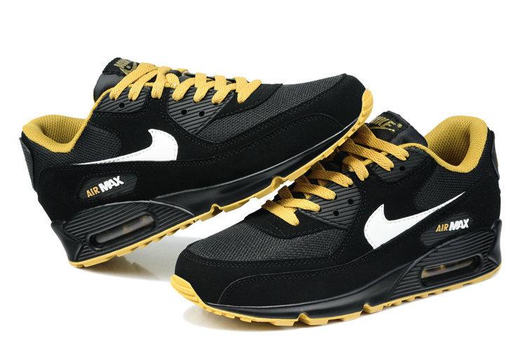 air max 90 noir et jaune