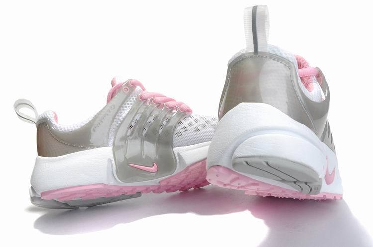 nike presto femme gris and rose