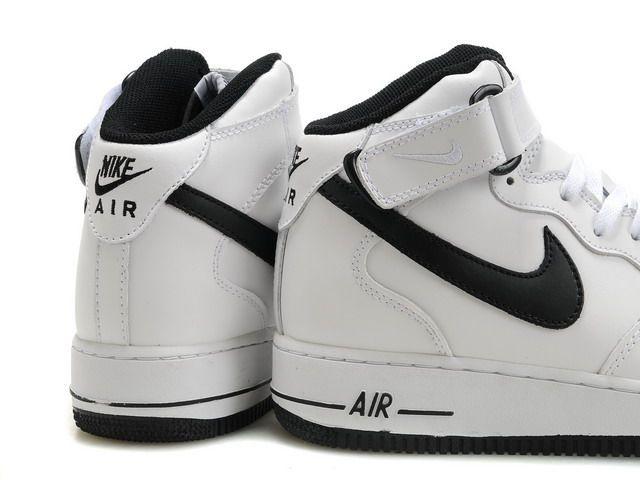 Nouveaux produits 1afb2 284fd basket air force one,air force 1 mid blanche et noir