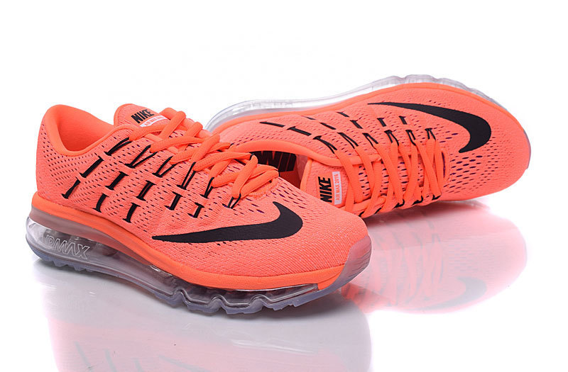basket femme nike air max,air max 2016 femme orange et noir