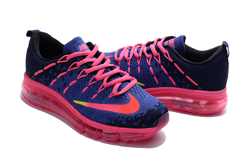 usine authentique d957b ee111 basket femme nike air max,air max 2016 ultra bleu et rose