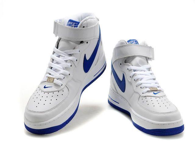 nike air force 1 blanche et bleu