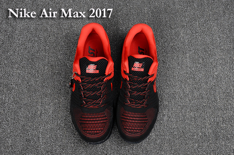 air max 2017 noir et rouge