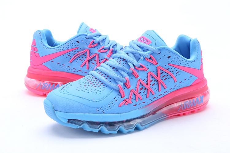 acheter en ligne 78a85 358db basket nike air max,air max 2015 bleu et rose femme