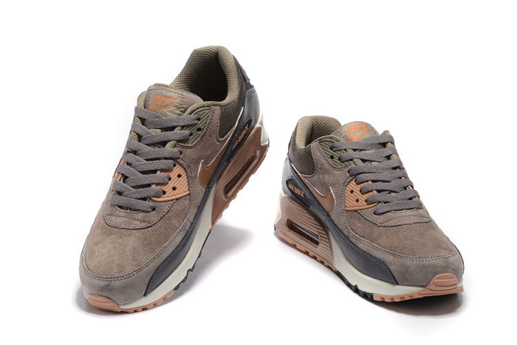 air max 90 femme marron gris rose