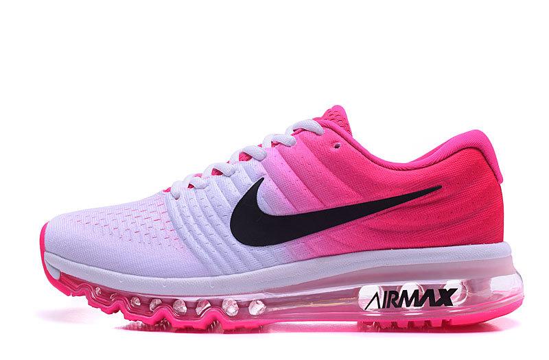 basket nike air max,nike air max 2017 femme rose et blanche