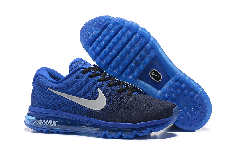 basket air max homme bleu