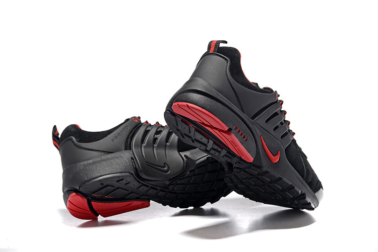 basket presto,nike air presto ultra noir et rouge