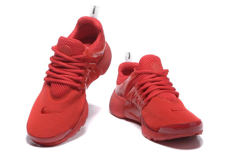 basket rouge femme nike