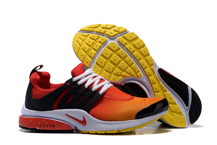 100% genuine the sale of shoes exquisite style chaussure nike pour homme,air presto ultra jaune et rouge homme