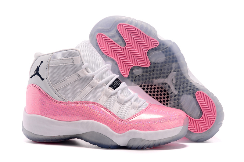 detailed look 97738 ec8cd ... closeout jordan 11 retro nouvellenike air jordan 11 blanche et rose  femme ec1d1 ef706