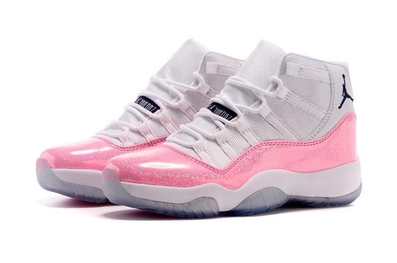 chaussures de sport ff5b3 7b11f jordan 11 retro nouvelle,nike air jordan 11 blanche et rose ...