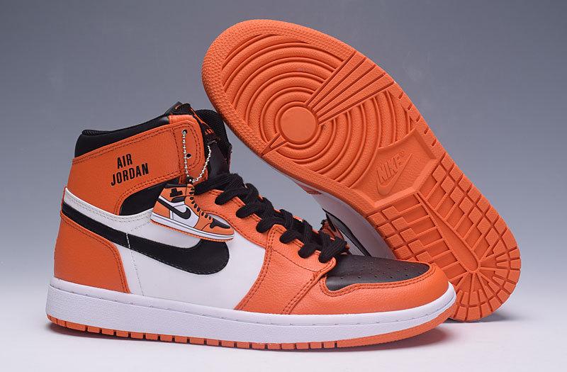 air jordan 1 orange homme