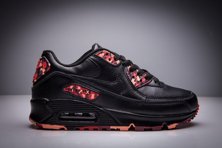 air max 90 noir et orange homme
