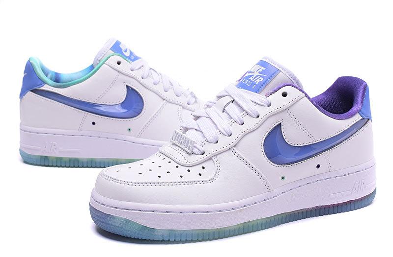 nike air force 1 femme bleu et blanche