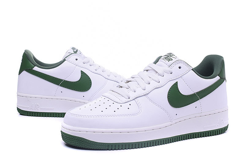 nike air force 1 blanche et verte