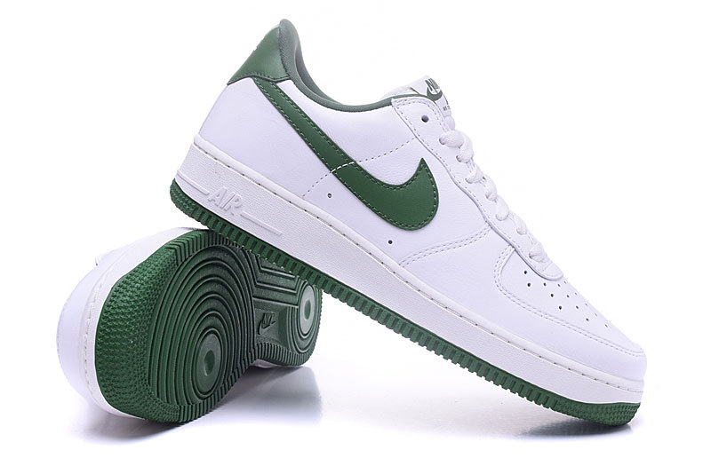 code promo 67eb0 8f95a nike air force daim,homme air force 1 low blanche et verte