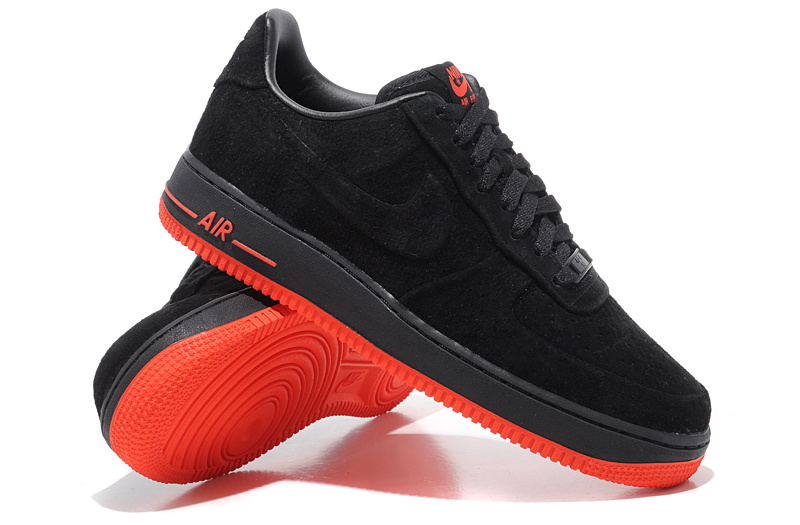 air force 1 rouge et noir
