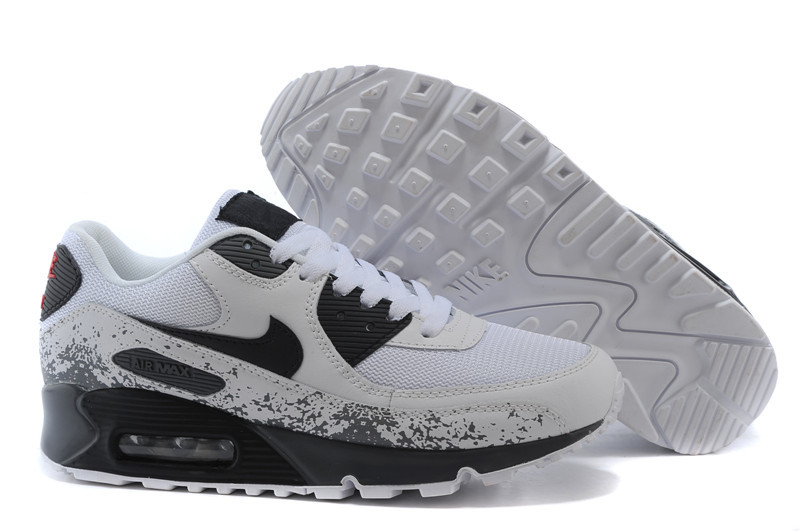 quality design ba836 50cab ... where can i buy nike air max 90 femmefemme max 90 noir et gris pas cher