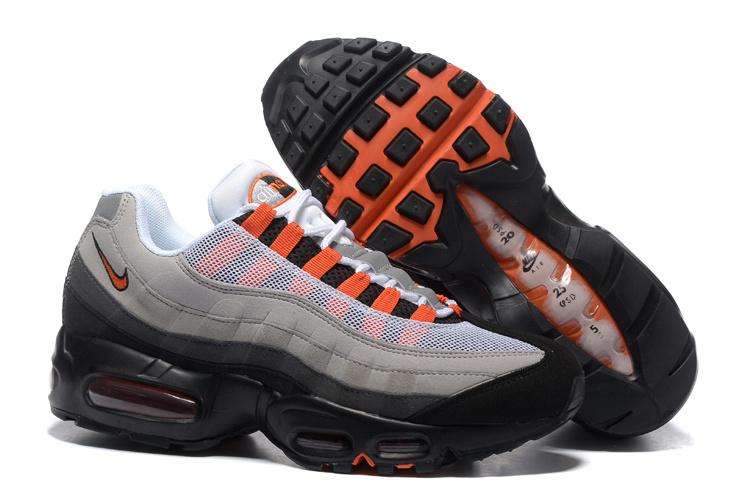 exclusive range pretty nice big discount nike air max 95,nike air max 95 gris et noir et orange homme