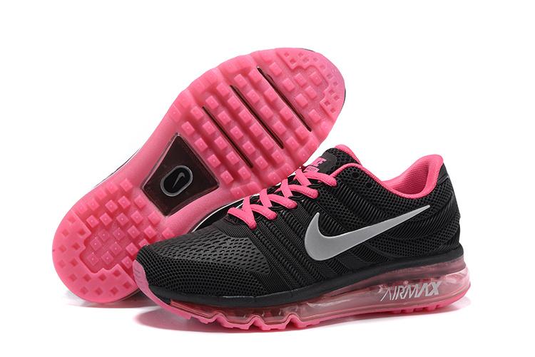 chaussure nike femmes noir et rose