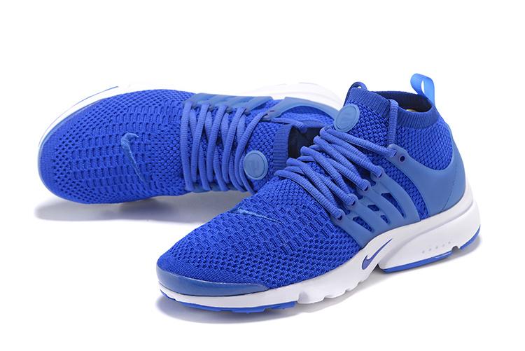 chaussure nike air presto bleu
